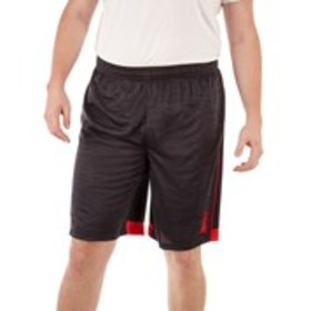 TAPOUT Big & Tall Two-Tone Mesh Active Shorts