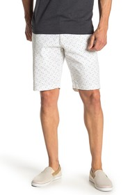 Ben Sherman Geometric Dot Cotton Shorts