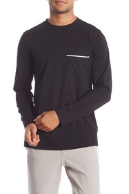 Theory Neo Front Pocket Long Sleeve T-Shirt