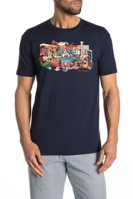 Ben Sherman 70's House Graphic T-Shirt