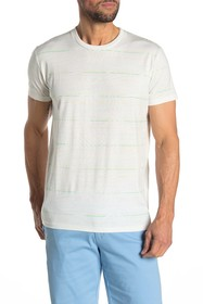 Ben Sherman Palm Striped Styled T-Shirt