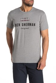 Ben Sherman Logo Graphic Print T-Shirt