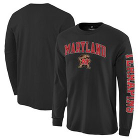 Maryland Terrapins Fanatics Branded Distressed Arc