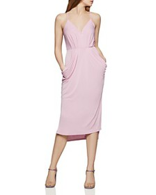 BCBGENERATION - Faux-Wrap Midi Dress
