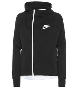Nike Sportswear Tech cotton-blend hoodie