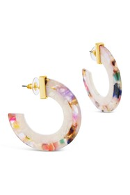Sterling Forever 14K Yellow Gold Plated 44mm Multi