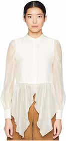 See by Chloe Semi Sheer Blouse