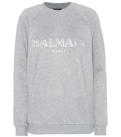 Balmain Exclusive to Mytheresa – Printed cotton sw