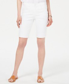 Style & Co Crochet-Trim Shorts, Created for Macy's