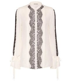 Etro Lace and silk shirt