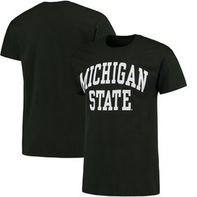 Michigan State Spartans Basic Arch T-Shirt - Green