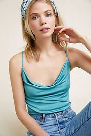Anthropologie Claremont Draped Cami