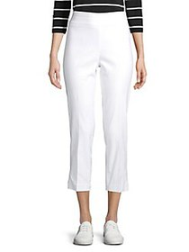 Context High-Rise Cropped Pants BRIGHT WHITE