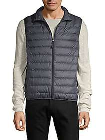 HAWKE & CO Packable Quilted Down Puffer Vest HEATH