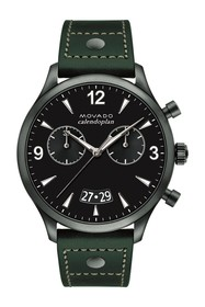 Movado Men's Heritage Swiss Quartz Strap Watch