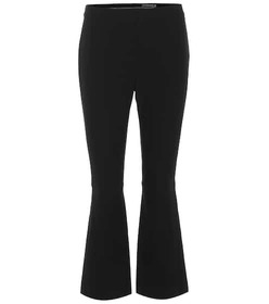 Alexander McQueen Embellished cropped pants