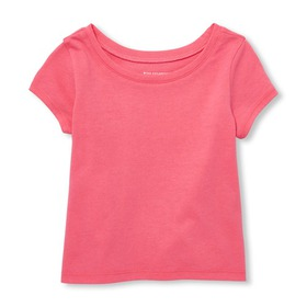 Baby And Toddler Girls Matchables Short Sleeve Top