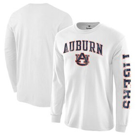 Auburn Tigers Distressed Arch Over Logo Long Sleev