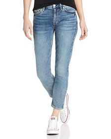 7 For All Mankind - Kimmie Cropped Jeans in Medium