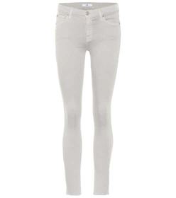 7 For All Mankind The Skinny Crop mid-rise jeans