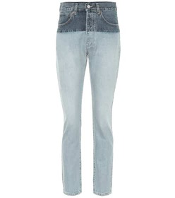 Vetements High-rise straight jeans