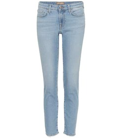 7 For All Mankind Pyper cropped mid-rise skinny je