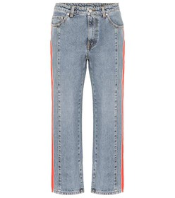 Alexander McQueen High-rise straight jeans