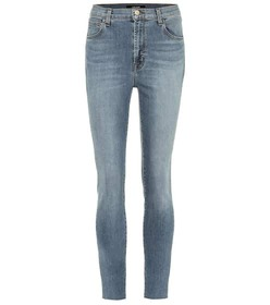 J Brand Alana cropped high-rise skinny jeans