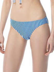 MICHAEL Michael Kors Stripe Up Bikini Bottom GRECI