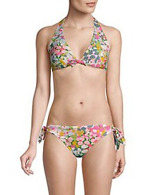 Kate Spade New York Floral Dots Reversible Halter