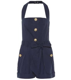 Balmain Cotton playsuit