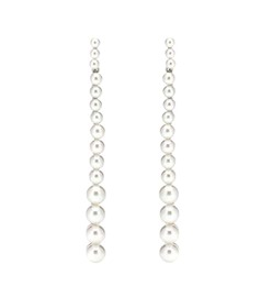 Oscar de la Renta Faux-pearl earrings