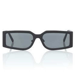 Self-Portrait Eden rectangular sunglasses