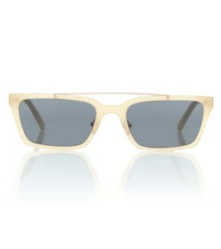 Self-Portrait Lia rectangular sunglasses