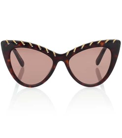 Stella McCartney Falabella Chain cat-eye sunglasse