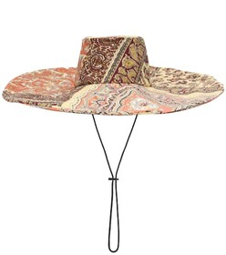 Etro Paisley-printed cotton hat