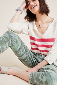 Anthropologie Shipley Knit Pullover