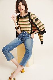 Anthropologie Girona Striped Cardigan