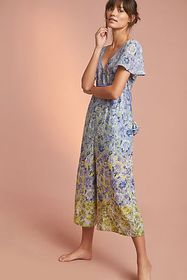 Anthropologie Romerio Sleep Jumpsuit