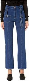 See by Chloe Denim Trousers with Braids