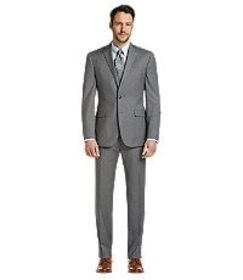 Jos Bank Traveler Collection Slim Fit Micro Weave