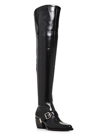 Chloé - Women's Rylee Pointed Toe Tall Leather Boo