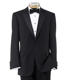 Jos Bank Traveler Collection Tailored Fit Tuxedo C
