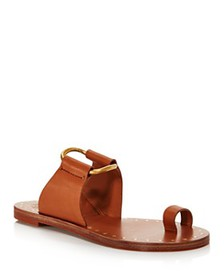 Tory Burch - Women's Ravello Studded Leather Slide
