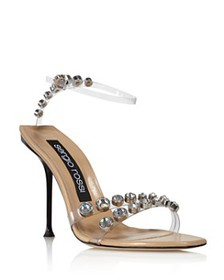 Sergio Rossi - Women's Stone-Embellished High-Heel