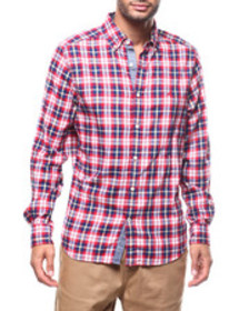 Nautica l/s plaid buttondown