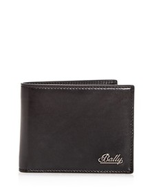 Bally - Logo Leather Bi-Fold Wallet