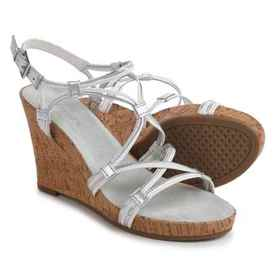 Aerosoles Real Plush Wedge Sandals - Leather (For