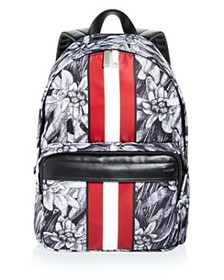 Bally - Hawaii Stripe Backpack