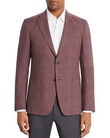 Z Zegna - Tonal Glen Plaid Slim Fit Sport Coat - 1